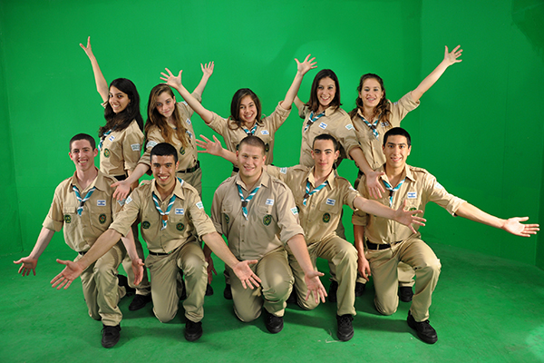 Israeli Scouts at Or Tzion