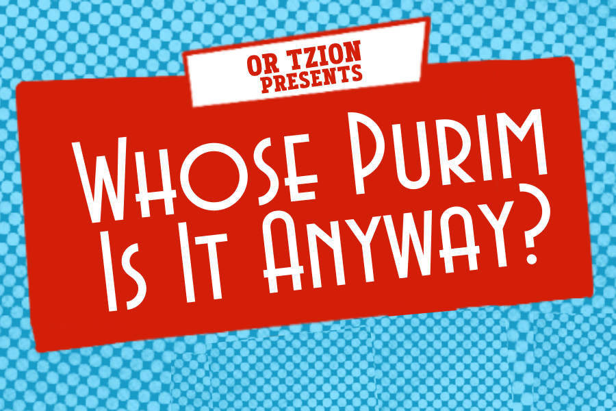 Whose Purim Is It Anyway?