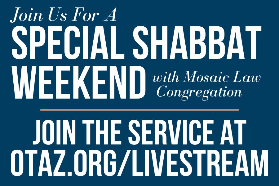 Shabbat Morning Service