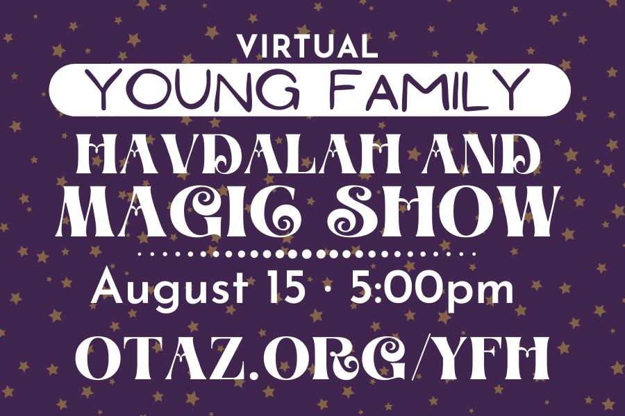 Young Family Havdalah and Magic Show