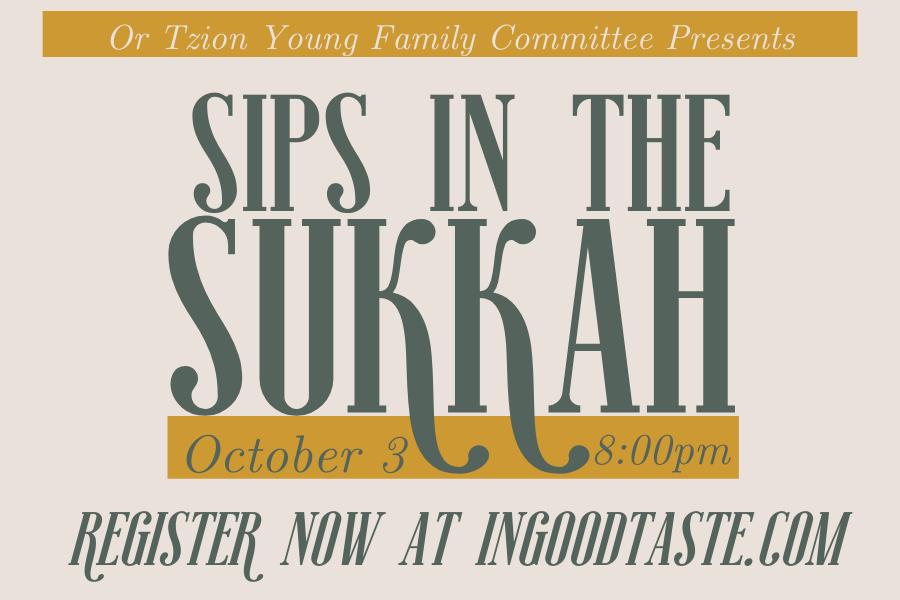 Sips in the Sukkah