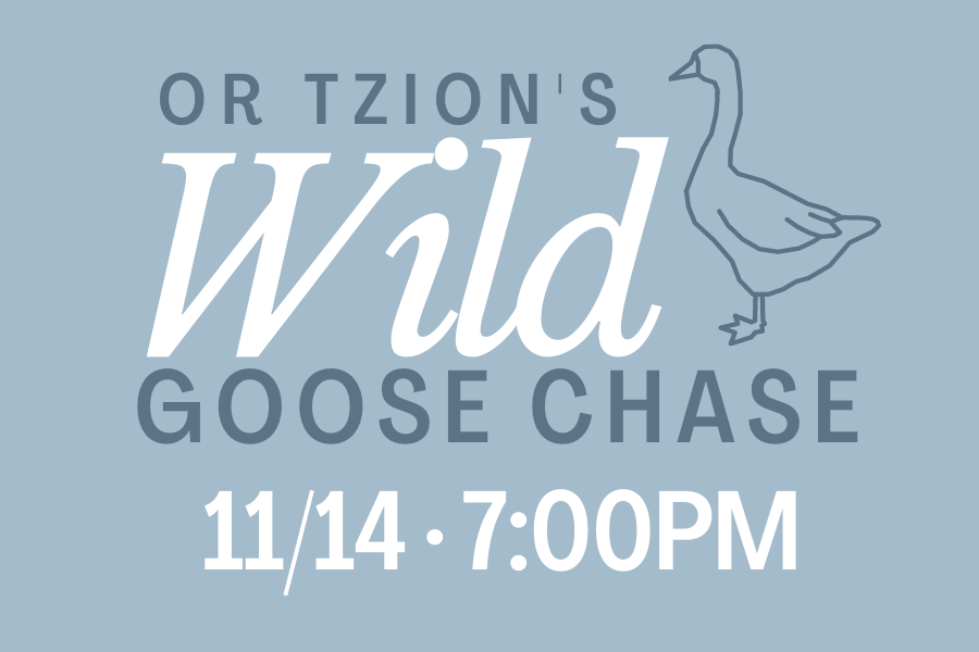 Or Tzion's Wild Goose Chase Scavenger Hunt